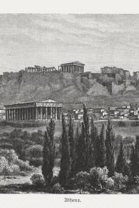 Tempio di Efesto e Acropoli di Atene