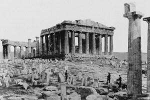 Il partenone, il tempio di Fidia dedicato ad Athena parthenos