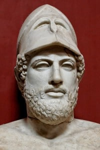 Pericle: marmo romano custodito al Vaticano nel Museo Pio Clementino