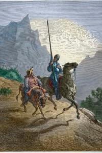 Don Chisciotte e Sancho Panza