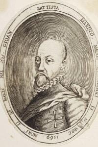 Ritratto di Giovan Battista Marino (1569-1625)