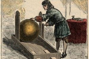 Macchina elettrostatica di Otto von Guericke