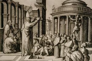 San Paolo predica ad Atene