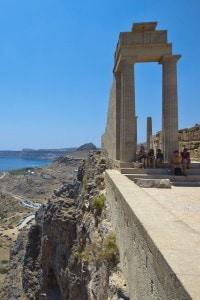 Acropoli di Lindos, Rodi