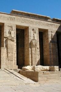 Medinet Habu: tempio funerario di Ramses III