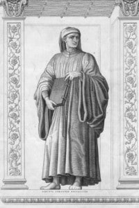 Giovanni Boccaccio, opera di Andrea del Castagno