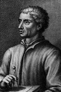 Leon Battista Alberti (1404-1472), 1460: poeta, architetto, musicista, filosofo, pittore e scultore italiano