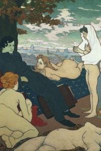 I fiori del male di Charles Baudelaire: dipinto di Charles Maurin, 1891