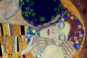 Klimt, Il Bacio