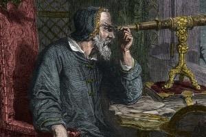 Galileo Galilei e il suo telescopio