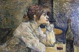 Henri de Toulouse-Lautrec - The hangover