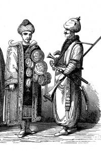 Giannizzeri della fine del XVII secolo