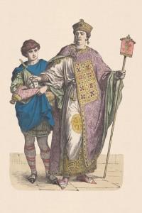 Abbigliamento di un Imperatore bizantino