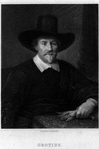 Ugo Grozio (1583 - 1645), 1610: giurista e teologo olandese