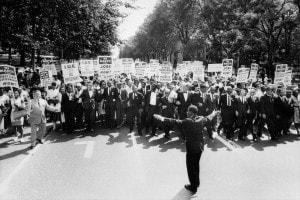 La marcia più famosa cui prese parte Martin Luther King in qualità di attivista per i diritti degli afroamericani