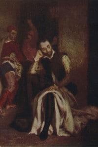 Tasso in prigione: dipinto di Eugène Delacroix