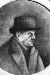 Ritratto di Eugenio Montale, dipinto di Ottone Rosai