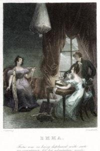 Frontespizio del romanzo Emma di Jane Austen