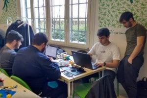 Romecup 2019, il Galileo Ferraris al lavoro in laboratorio