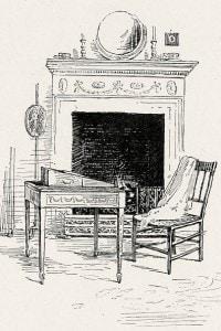 Il salotto di Chawton di Jane Austen