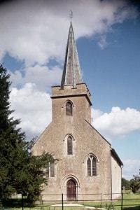 Chiesa di Steventon, qui il padre di Jane Austen fu rettore