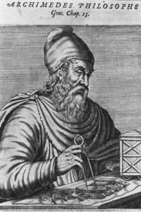 Archimede (287-212 BC): filosofo e matematico greco antico
