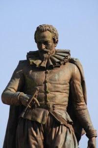 Statua di Simon Stevin in Belgio