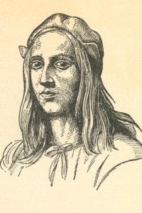 Raffaello Sanzio (1483-1520). Ritratto del pittore e architetto del Rinascimento italiano