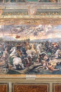 Stanza di Costantino: Battaglia di Ponte Milvio