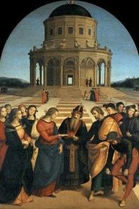 Sposalizio della Vergine, 1504