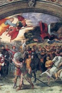 Stanza di Eliodoro: incontro di Leone Magno con Attila