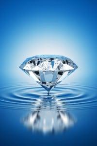 Diamante. Esempio di solido cristallino