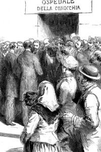 Epidemia di colera a Napoli, 1884