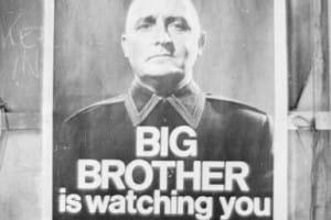 """Il manifesto: """"Grande fratello ti guarda"""""""