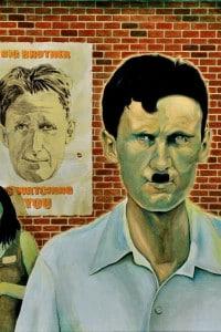 Ritratto di George Orwell firmato da Tommaso Pincio