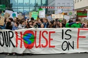 Manifestazione per il clima promossa da Greta Thunberg