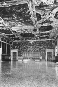 Sala del Maggior Consiglio del Palazzo Ducale di Venezia. Opera architettonica di Antonio da Ponte
