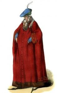 Signore di Milano: costume del XIV secolo