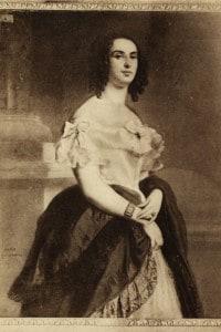 Adèle Foucher. Moglie di Victor Hugo. Dipinto di Louis Boulanger