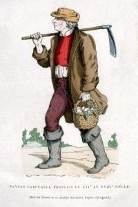 Contadino francese del XVI secolo