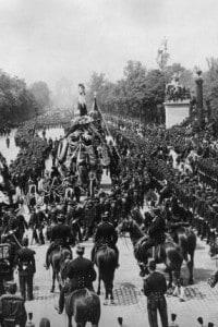 Funerali di Victor Hugo a Parigi