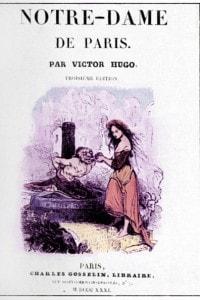 Notre-Dame de Paris di Victor Hugo: copertina del 1831