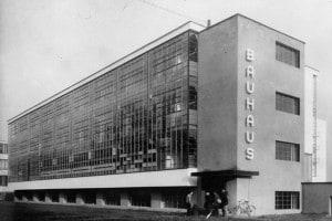 Esterno della Bauhaus di Dessau, 1926