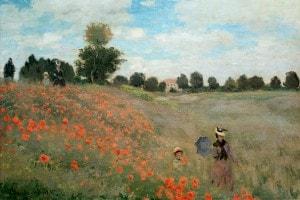 I papaveri di Monet. Vista intorno ad Argenteuil