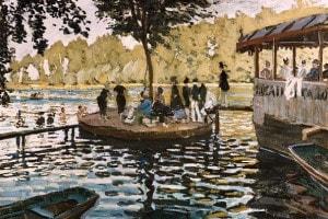 La Grenouillère di Claude Monet