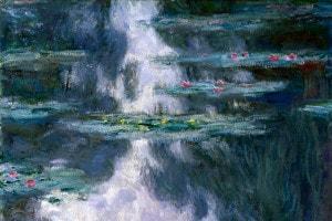 Le famose Ninfee di Claude Monet