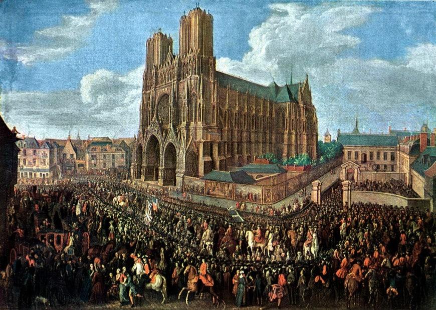 Notre Dame nel 1722
