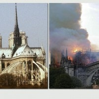 L'incendio nella notte del 16 aprile