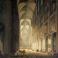 Notre Dame in una raffigurazione di J.F. Depelchin del 1789