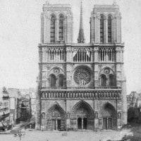 Notre Dame in una immagine del 19° secolo